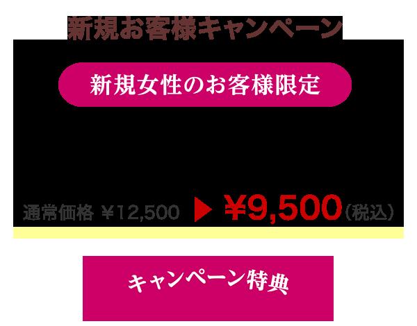 新規女性のお客様限定|カット+カラー+オッジィオットトリートメント通常価格\9,500
